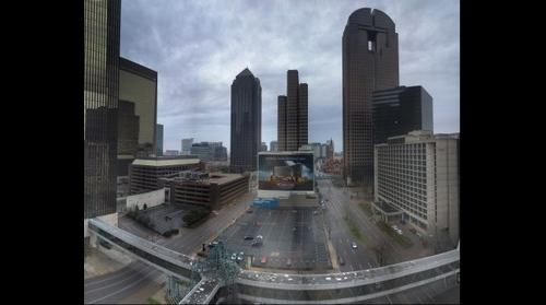Downtown Dallas from the Sheraton Hotel