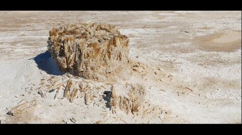 Crystal Pedestal White Sands National Monument
