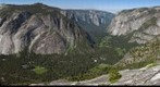 Looking west at Yosemite Valley from atop North Dome