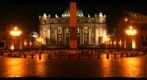 St. Peter&#39;s Square at night
