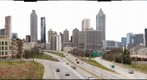 Downtown Atlanta from Jackson Street Bridge