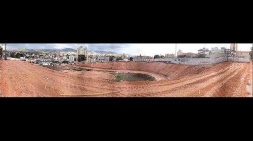 Estádio Independência em reconstrução