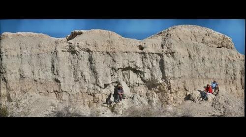 Las Vegas Wash Quaternary Stratigraphy, Detail 2