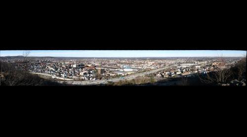 Paterson NJ from Garrett Mt. Reservation