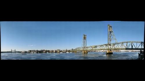 Memorial Bridge in Portsmouth, NH