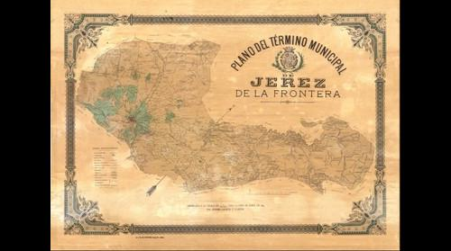 Plano del Término Municipal de Jerez de la Frontera 1897. (*Obra derivada)