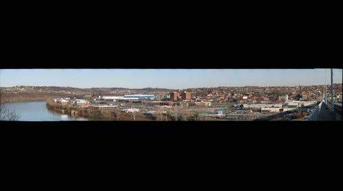 Homestead, PA Panorama, March 17, 2010