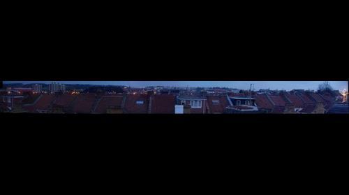 Bristol rooftops at 6am