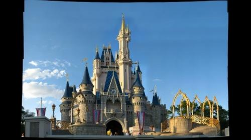 Cinderella's Castle, Magic Kingdom, Disney World, Orlando Florida, USA