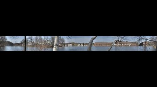 Mill Pond in Maynard.MA