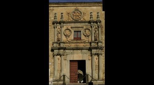 Fachada del Colegio de Santiago o del Arzobispo Fonseca