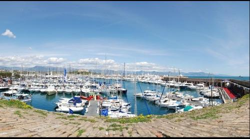 Port in Antibes