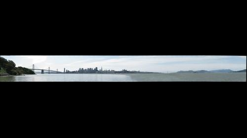 San Francisco from Treasure Island, California, USA