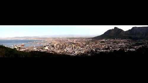Cape Town from Signal Hill (South Africa)