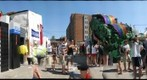 360 degree panorama of carnival midway