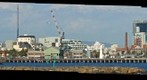 Port Melbourne from Sandridge Beach (zoomed in) Sept 24, 2002