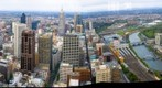 Melbourne Central Business District from Rialto: Melbourne Observation Deck, Oct 12, 2002