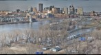 Downtown St. Paul, Minnesota from the High Bridge (HDR)