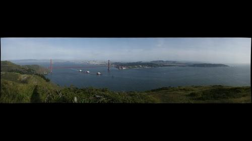 San Francisco - View from Hawk Hill.
