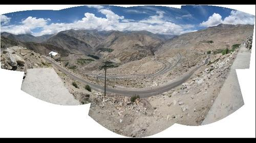 Uncropped Panorama From Kinnaur Valley