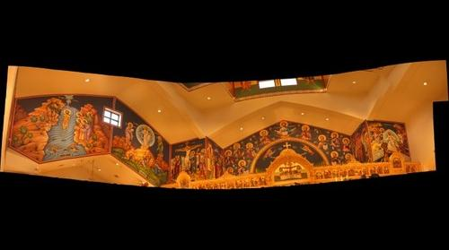 Greek Orthodox Church Mural