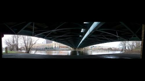 Minneapolis, MN Under the Hennepin Bridge