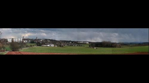 Panorama of Korbach, Germany (2)