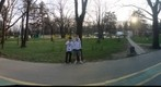 "Herastrau Park ""Ghost"" Panorama in Bucharest Romania"