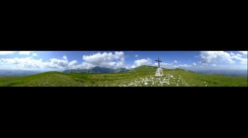 Dalla cima del Monte Amandola