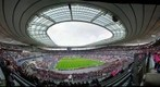 STADE DE FRANCE - MATCH RUGBY - PARIS - STADE FRANCAIS - CLERMONT FERRAND - RUGBY