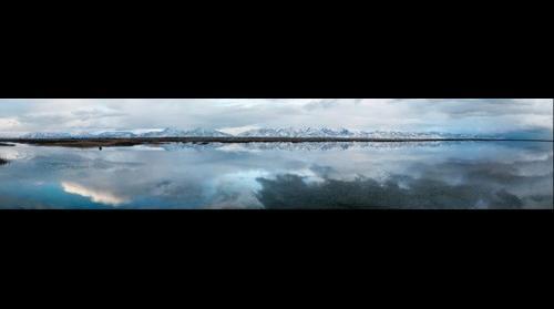 Great Salt Lake - Wasatch Mountains
