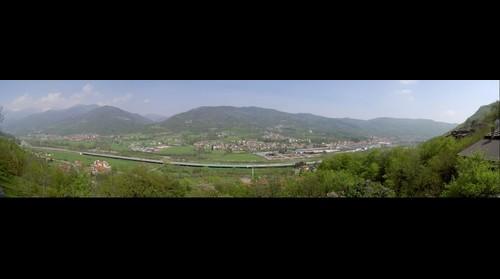 Villar Perosa e Pinasca visto da Inverso Pinasca (geotagged@fosk.it)