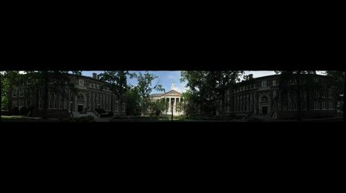 Lower Quad at UNC Chapel Hill