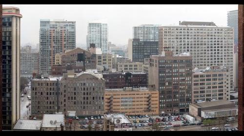 Grey Chicago Morning