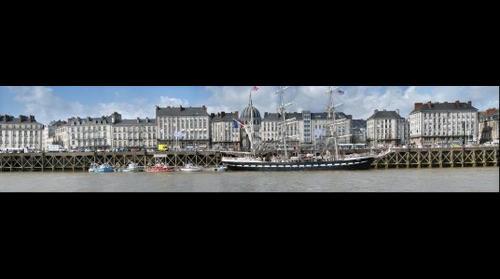 Nantes - Le Belem et Notre Dame de Bon Port