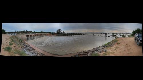 Lake Menindee outlet