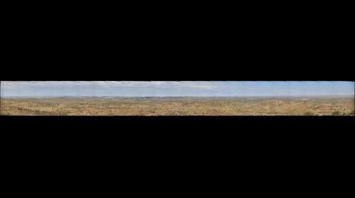 Broken Hill view from Sculptures site