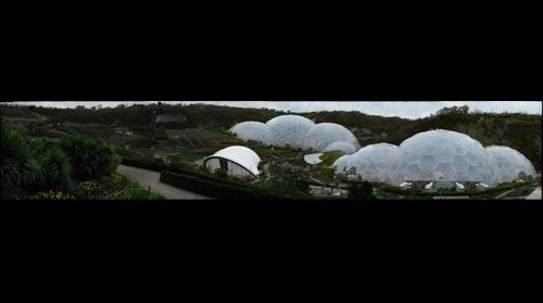 The Eden Project, Cornwall, UK