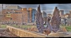 Bird sculptures, St. Paul, Minnesota (HDR)