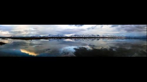 Great Salt Lake Panorama