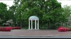 The Old Well on a beautiful day at UNC, Chapel Hill