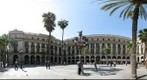 Barcelona squares - Reial