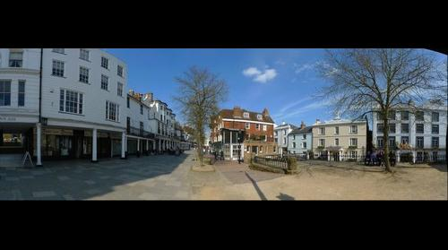 The Historic Pantiles, Tunbridge Wells, Kent, England