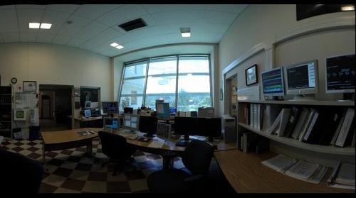 Arecibo Control room