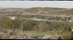  Tredegar - View from Cef Hill, looking back at town