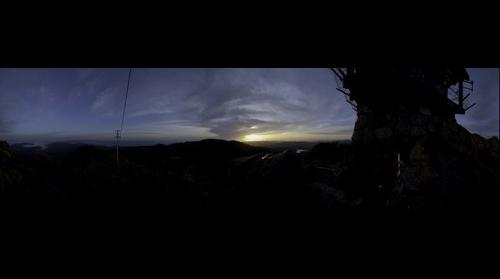 Sunset from Mount Tamalpais, 7:31pm