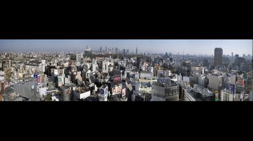 Tokyo from Shibuya to Shinjuku