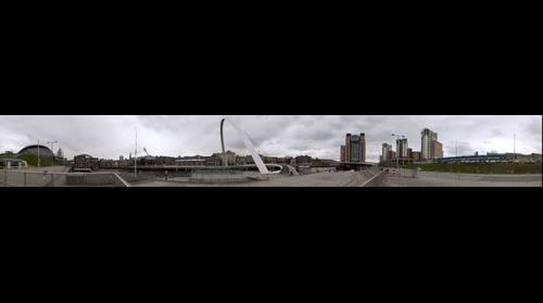Newcastle Quayside 360degree pano 2