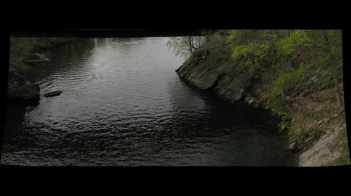 Housatonic river - North from Lover's Leap Bridge