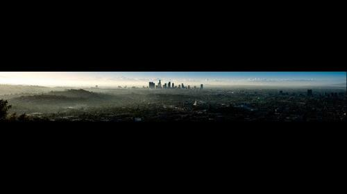 First Dawn in Los Angeles